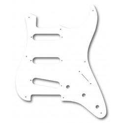 Fender Pickguard SSS Blanc