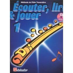 ECOUTER LIRE ET JOUER FLUTE TRAVERSIERE  VOL 1 + CD