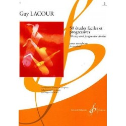 50 Etudes Faciles et progressives - cahier 1 - Guy Lacour