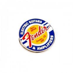 Fender® Magnet Clip Guitars and Amps Logo