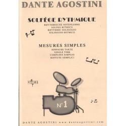 Solfège Rythmique Dante Agostini