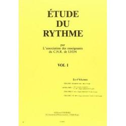 Etude du rythme Vol.1 par l'association des enseignants du CNR de Lyon