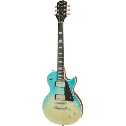 Les Paul Modern Figured  Caribbean Blue Fade