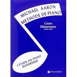 Michael Azron methode de piano cours élémentaire vol 1