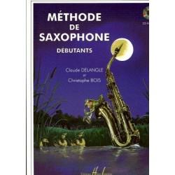 Méthode de saxophone pour débutants - DELANGLE Claude / BOIS Christophe