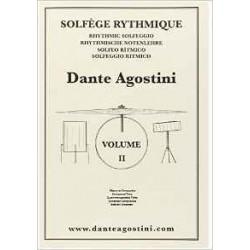 Solfège Rythmique Dante Agostini vol 2