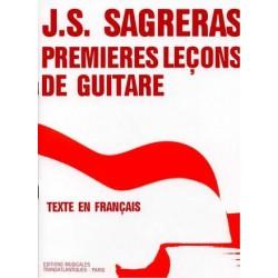 PREMIERES LECONS DE GUITARE DE SAGRERAS