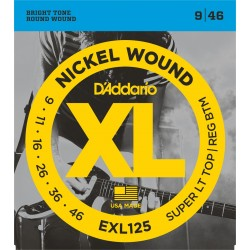 D'Aaddario XL Nickel Wound 9-46 EXL125