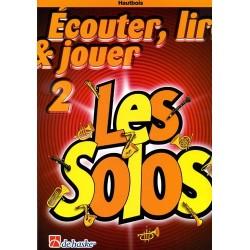 ECOUTER LIRE JOUER SAXO ALTO / BARYTON LES DUOS VOL 1 ED DE HASKE