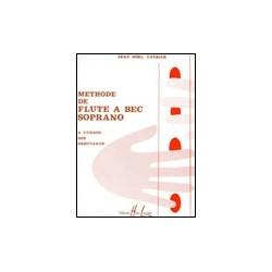 Méthode de flûte à bec - CATRICE Jean-Noël