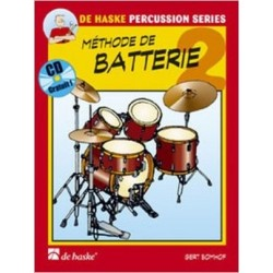 méthode de batterie + cd ed de haske de Gert Bomhof