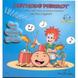 Méthode Pierrot Vol.1 de PELLEGRINI Joël