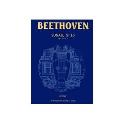 BEETHOVEN Sonate n°10...