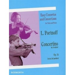 Easy concertos and concertinos op 14 L.Portnoff