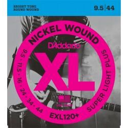 D'Addario Nickel Wound 9.5-44 EXL120+
