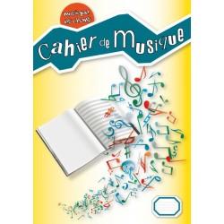 Cahier de musqiue portées-écritures