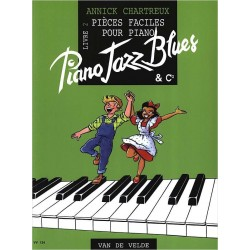 Piano Jazz Blues 2 - CHARTREUX Annick