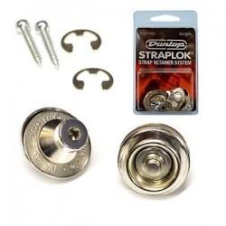 Dunlop Straplok Traditional Nickel