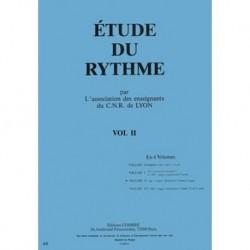 C.N.R. de Lyon - Etude du rythme Vol.2 -