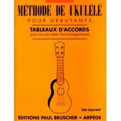 Methode Ukulélé Débutant ed P. beuscher