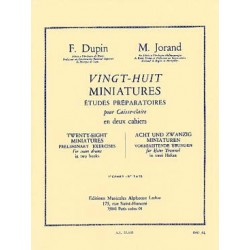 DUPIN/JORAND 28 MINIATURES VOL. 1