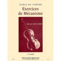 Ecole du violon Etude méthodique des positions M. Hauchard