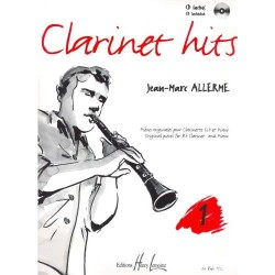Clarinet hits Vol.1 - ALLERME Jean-Marc
