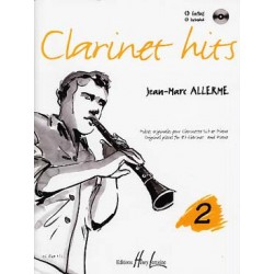 Clarinet hits Vol.2 - ALLERME Jean-Marc