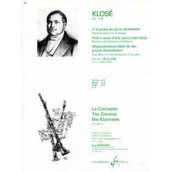 A La Portee Du Jeune Clarinettiste Volume 2 - KLOSE Hyacinte