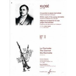 A La Portee Du Jeune Clarinettiste Volume 3 - KLOSE Hyacinte