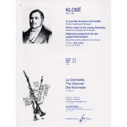 A La Portee Du Jeune Clarinettiste Volume 4 - KLOSE Hyacinte