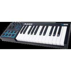 Clavier maître USB MIDI V25