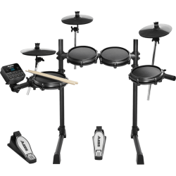 Kit mesh 4 fûts - 3 cymbales