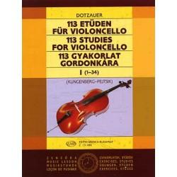 113 Études pour violoncelle...