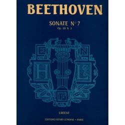 BEETHOVEN Sonate n°7 op.10 N 3