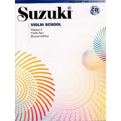 Suzuki violon School vol 3...