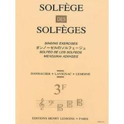 Solfège des Solfèges vol 3F...