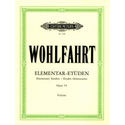 Wohlfahrt opus 54 Elemantar...