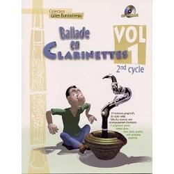 Ballade en clarinettes vol...