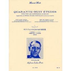 48 Études d'après Ferling...