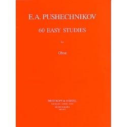 60 Easy Studies for Oboe de...