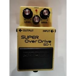 1 SD-1 Super Overdrive occasion sans boite