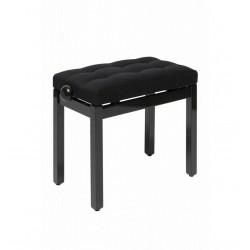 Banquette de piano noir...