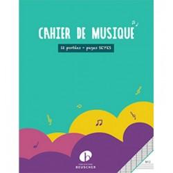 Cahier de musique...