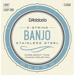 Cordes de Banjo  EJ60