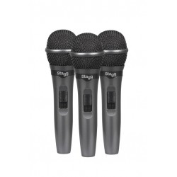 Lot de 3 microphones...