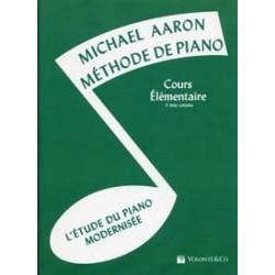 Aaron méthode de piano cours Elémentaire 3 ème volume