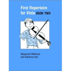 First Repertoire for Viola Book Two - Faber Music - Wilkinson / Hart