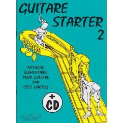 Guitare starter 2 - cd inclus de cees hartog