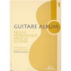 Guitare album recueil pédagogique pour la guitare vol 1 de Patrick Guillem